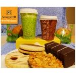 """SONNENTOR """"to go"""" Gutschein – 52% auf z.B. Kaffe oder Tee + Mehlspeise nach Wahl"""