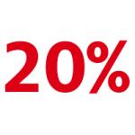 20% auf alles bei C&A (im Shop und Online) 05. – 08. September 2013