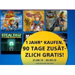 90 Tage zusätzlich bei Playstation Plus Jahresabo um 39,99 Euro