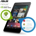 Nexus 7 32GB Wifi (2012er Modell) refurbished inkl. Versand um 135,90€ bei iBOOD