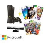 Saturn Tagesdeal: Microsoft XBOX360 4GB Kinect Bundle + 6 Spiele um nur 155 Euro (+ weitere Deals)