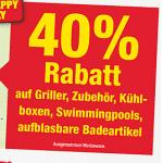 Metro Aktionen ab 12. September 2013 – z.B.: 40% Rabatt auf Griller, Gartenmöbel & Schirme