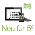 Amazon: Neu für 5 Euro MP3 Aktion