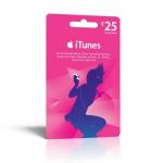 25,- Euro iTunes Guthaben um 20,- Euro bei MediaMarkt