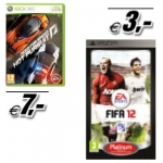 FIFA 12 Platinum (PSP) um 3 Euro inkl. Versand