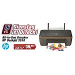 DitechDienstag: HP Deskjet All-in-One Drucker 2510 um 39,90 €