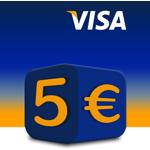 Amazon: 5 Euro sparen bei Bezahlung mit Visa-Kreditkarte