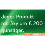 Saturn: Sky Welt + ein Premium Paket günstiger + 200 Euro bei Saturn