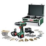 Bosch Akku-Bohrer PSR 12-2 + 2. Akku + 241-tlg. Toolbox inkl. Versand um 119 Euro bei Brands4Friends