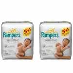 Amazon: Pampers Feuchte Tücher Sensitive 12 Packungen um 10,59 Euro