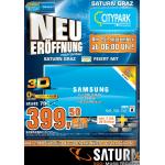 Saturn Graz – Neueröffnung vom 25. bis 30. September 2013