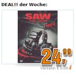 Deal der Woche bei Saturn: Saw 1-7 auf DVD um 24,99€ inkl. Versand