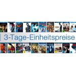 3 Tage Einheitspreise auf Blurays und DVDs bei Amazon.de bis 3.10.2013