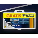 Gilette Aktion: 12 Stück Gilette Fusion + 2 Gratis Tickets um 25,07€ u.a. bei Amazon