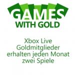 Kostenlose Games für XBOX live Mitglieder