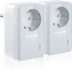 Powerline-Netzwerkadapter (500Mbps, Fast Ethernet, integrierte Steckdose) 2er-Set um 38,90 € – gültig bis 14:00 Uhr