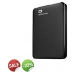 Ditech: Externe Festplatte 2,5″ WD Elements portable, 1 TB, USB 3.0 um 59,90 €
