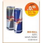 Red Bull um € 0,95 bei Müller