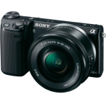 SONY NEX-5RLB Kit inkl. SEL-P1650 Objektiv um 450 Euro bei Saturn.at