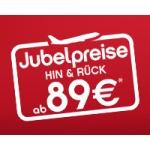 Airberlin Jubelpreise + ebookers 50 Euro Gutschein = saugünstige Städtetrips! ;)