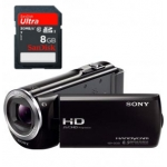 Redcoon: Sony HDR-CX320E + SanDisk SDHC Ultra 8GB Class 10 inkl. Versand um 266,99 Euro