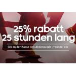 nur heute: 25% Rabatt auf den gesamten Adidas.at Onlineshop