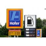 Eröffnung Hofer Tankstelle (PLZ 2103/1210) tanken um 1,1111 (Diesel) und 1,2222 (Benzin) nur heute & morgen!