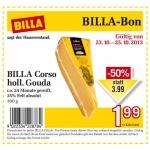 neuer Billabon: BILLA Corso holländischer Gouda um 1,99€ statt 3,99€