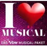 I LOVE MUSICAL – das VBW MUSICAL-PAKET
