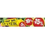 Baumax: bis zu -15 % auf einen Artikel eurer Wahl von 11. bis 12.4.2014