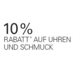 10% Rabatt auf Uhren & Schmuck bei ebay bis 13. November 2013