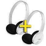 Mediamarkt: Doppelpack Philips SHB4000 Bluetoothkopfhörer in weiß um 49,99 Euro