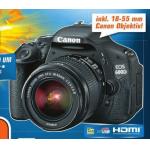 Geburtstagsgeld / Weihnachtsgeld bei Saturn G3 Gerasdorf / Vösendorf SCS / Wien Auhof – z.B.: Canon EOS 600D Spiegelreflexkamera um 349 Euro