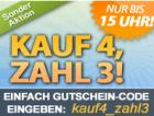 von heute 11:00-16:00: Kaufe 4, Zahl 3 @DailyDeal.at und DailyDeal.de