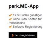 park.me App als 3Kunde günstiger nutzen