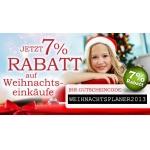 Spiele-Offensive.de: 7% Rabatt auf einen Weihnachtseinkauf (incl. Partnershops)