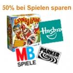 Amazon: -50% auf Zweiten Hasbro Artikel sparen