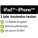 Gravis verschenkt insgesamt 100.000 Abos von ipad life + iphone life