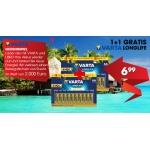 Libro: 20 STK Varta Mignon AA Longlife Batterien um 6,99 € und 15 % Rabatt auf iTunes Karten