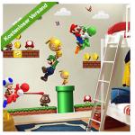 Super Mario Wandsticker inkl. Versand um 2,49 Euro bei ebay