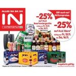 Interspar: -25% auf Bier und Biertender Geräte am 15. u. 16.11.