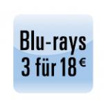 5 Tage Film-Schnäppchen vom 15. – 19. November 2013 z.B.: 3 Blu-rays ab 18 Euro & 5 Euro Rabatt ab 3 Titel – nicht kombinierbar!