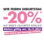 – 20 % auf alles bei Marionnaud am 16. & 17.11.2013