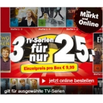 Mediamarkt: 3 TV-Serien um € 25,-