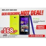 Redcoon Hotdeal: HTC Windows Phone 8x um 173,99 € statt 220,82 €