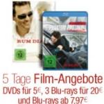 Amazon: 5 Tage Filmangebote Reloaded