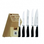 Möbelix: WMF Messerblock Gourmetline um 101 und WMF Besteckset Dune (24 teilig)