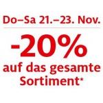 C&A: -20% auf alles (online und offline)