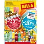 -25 % auf Mineral, Limo, Fruchtsäfte und Energydrinks bei BILLA am 22. u. 23. November  (nur für Vorteilsclubmitglieder)