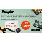 -15% Rabatt mit Gutscheincode bei Douglas.at